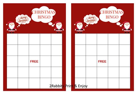 Maybe you would like to learn more about one of these? 20 Printable Christmas Bingo Cards Prefilled by ...