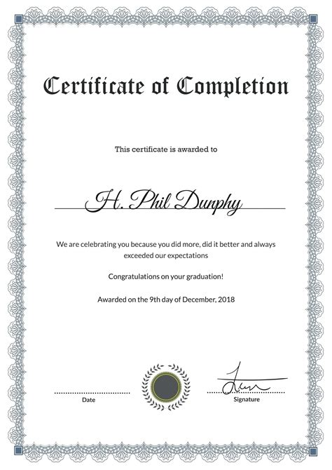 Anger Management Certificate Template by Anger Management Certificate Of Completion Template Choice