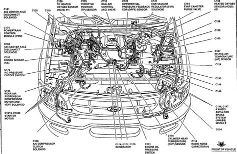 1999 Ford F 150 Anti Theft Wiring Diagram by 1999 Ford F150 I Need A Drawing Of The Engine Wiring Harness