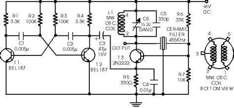 simple circuit diagram if signal generator electronic schematic circuit diagram picture
