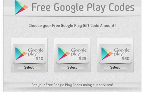 recommended google play gift card codes