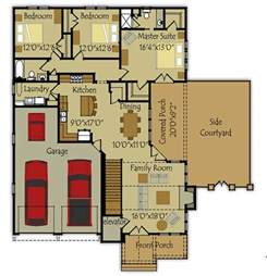 Small Homes Floor Plans Photo by Small Single Story House Plan Fireside Cottage