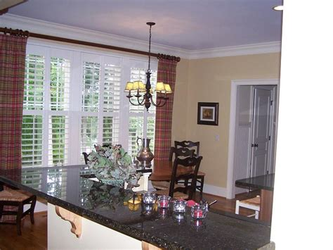 window treatments with plantation shutters thenest
