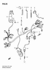 Wiring Harness For 2011 Suzuki Gd110