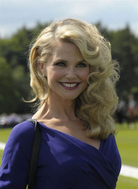 christie brinkley hairstyles  appealing haircuts