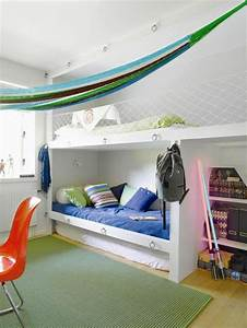 Lit Garçon Original : comment am nager une chambre d 39 ado gar on 55 astuces en photos ~ Teatrodelosmanantiales.com Idées de Décoration
