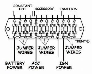 fuse panel ignition switches etc how to wire stuff up With fuse board wiring