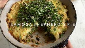 Make Ahead VEGAN Samosa Shepherd's Pie - YouTube