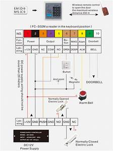 Fc-s02 Access Controller Wiring Diagram