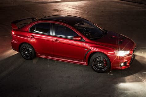 Mitsubishi Lancer Evolution Final Edition Us0001 Goes Up