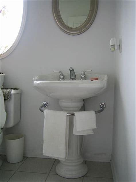 kitchen towel bar sink pedestal sink towel bar wall mount b wall decal 8669