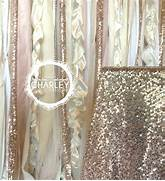Pink And Gold Shower Curtain by Items Similar To Rose Gold Sequin Wedding Backdrop Garland With Pink Blush Iv