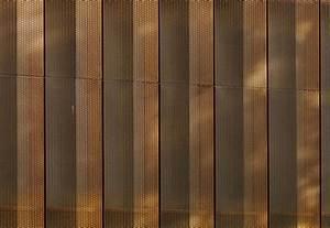 Tecu U00ae Bronze Punch Slot Perforation  Villa Vauban By Kme