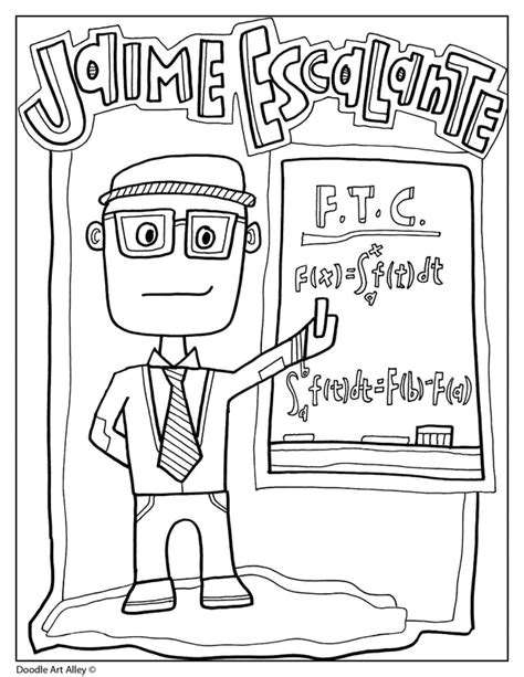hispanic heritage month classroom doodles