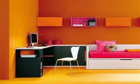 deco chambre orange déco chambre ado orange