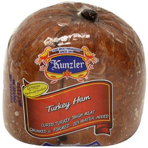 turkey ham kunzler