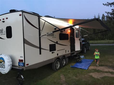 travel trailer camping guide  beginners camper report
