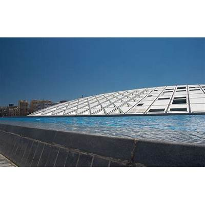 Bibliotheca Alexandrina Egypt Roof design view - 87