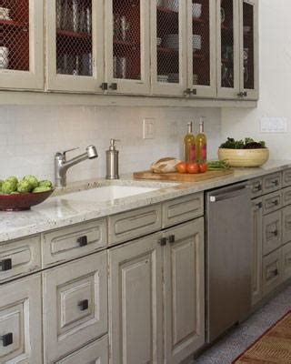 distressed gray kitchen cabinets distressed grey cabinets someday i hope pinterest