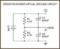 Virtual Ground Circuits
