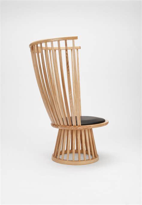 Armchair Fan by Fan Chair Armchair H 112 Cm Wood Leather By