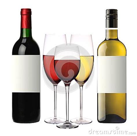 Bicchieri Da Bianco E Rosso by Bicchieri Di Con Rosso E Bianco E Le Bottiglie