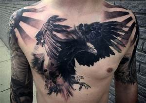 60 Bird Tattoos For Men - From Owls To Eagles