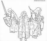 Narnia Chronicles Coloring Pages Susan Lucy Prince Gifts Caspian Wardrobe Printable Edmund Getcoloringpages Drawing Template сoloring Three Them Children Colorator sketch template