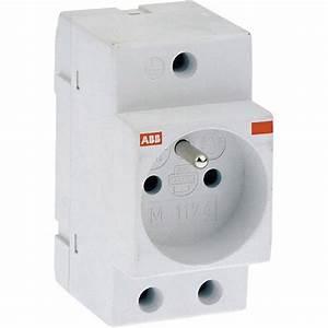 Prise Tableau Electrique : prise modulaire 2 p t abb 16 a leroy merlin ~ Melissatoandfro.com Idées de Décoration
