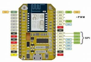 Esp8266 12e Pinout Schematic Circuit Diagram