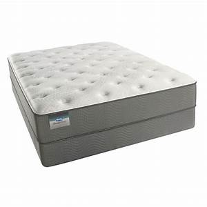 Simmons beautyrest emerald bay plush mattress for Furniture and mattress warehouse reviews