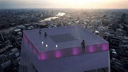 Pool Skyscraper Infinity London Unveiled Pools Built