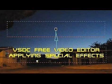 vsdc  video editor text editing movement zoom