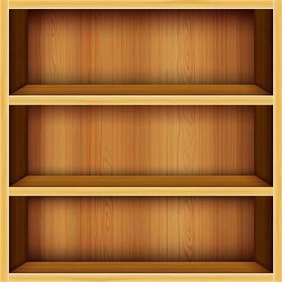 Shelf Empty Bookshelf Clipart Transparent Cartoon Pluspng