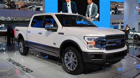 New Ford F150 Diesel And Front End Photos From The 2017