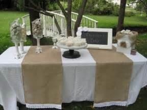 burlap runners wedding burlap table runner rustic wedding decor eyelet lace