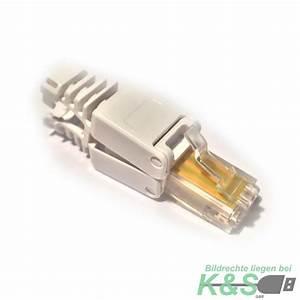 Lan Kabel Stecker : k s rj45 netzwerkstecker ohne werkzeug cat6 lan utp kabel stecker werkzeuglos ebay ~ Orissabook.com Haus und Dekorationen