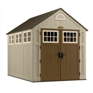 suncast alpine shed suncast alpine 7 ft 5 3 4 in x 10 ft 8 in resin