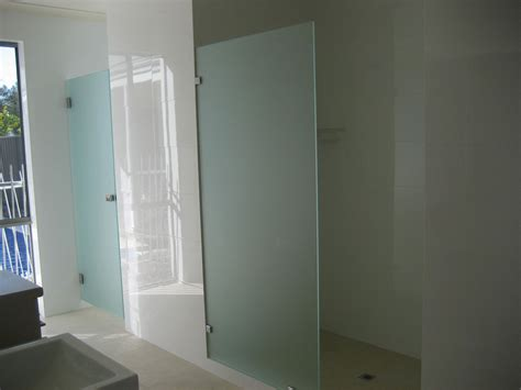 Splashback Panels For Showers by Bathroom Door With Frosted Glass Panel Bathroom Trends