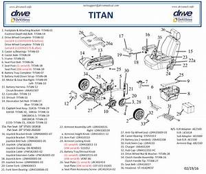 Titan X16 Replacement Parts In Parts For Titan X16 By