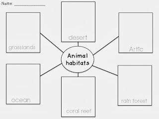 animal habitats common animal