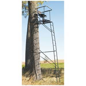 big game infinity 16 ladder tree stand 229430 ladder tree stands at sportsman s guide