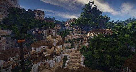 aarun oriental fantasy city minecraft building