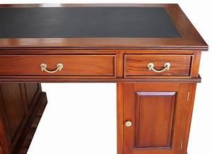 Biedermeier Schreibtisch Antik Massiv Stil Kirsche