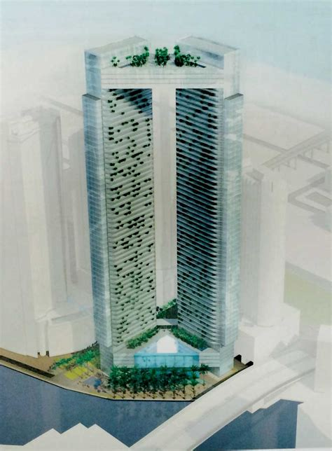 Two 60 Story Towers Due On River Miami Today