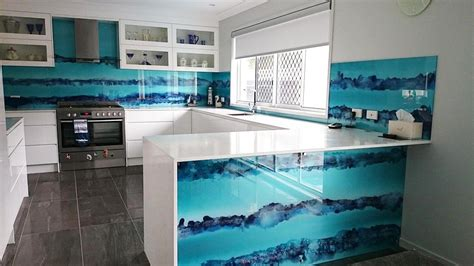coastal kitchens gold coast glass counter fronts and island benches gold coast 5513