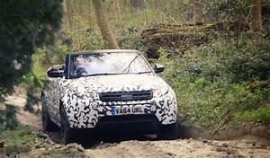 New Range Rover Evoque Convertible Impresses