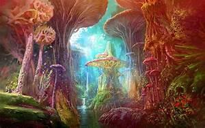 Mushroom Drawings - The Magic Art of Mushrooms