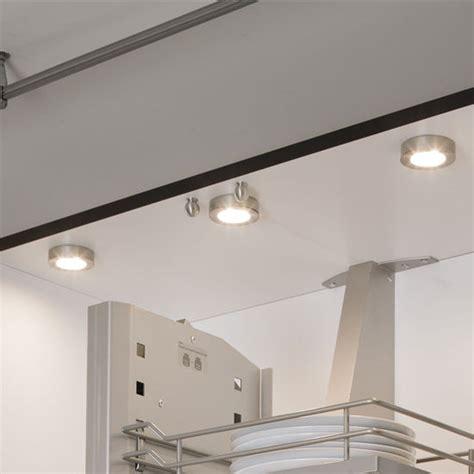 cabinet lighting hafele loox ma led   puck light   leds  powerful direct