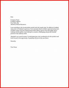 sample short cover letter apa example With tips on writing a good cover letter